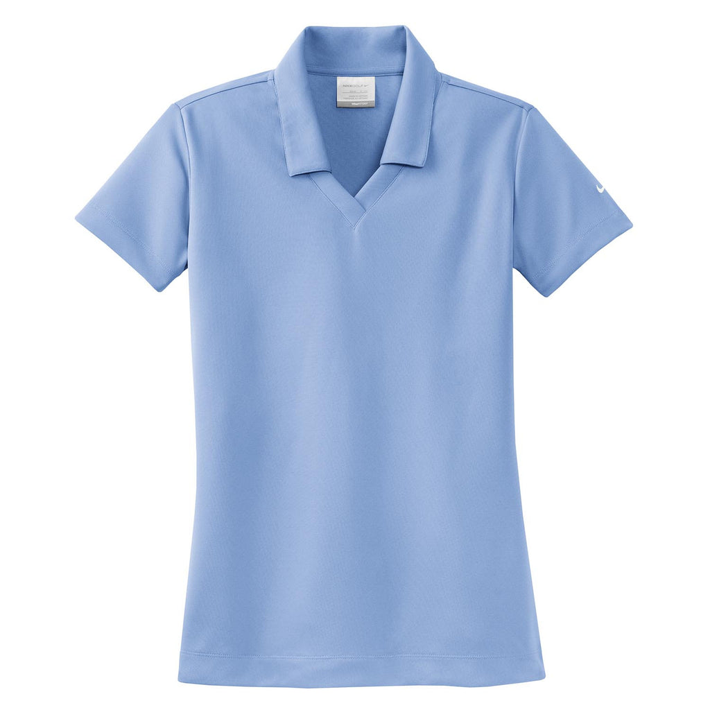 63d2e5baf4cc Nike Golf Women s Light Blue Dri-FIT S S Micro Pique Polo