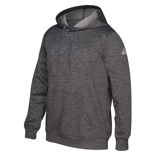 Adidas Men S Dark Grey Climawarm Team Issue Hoodie