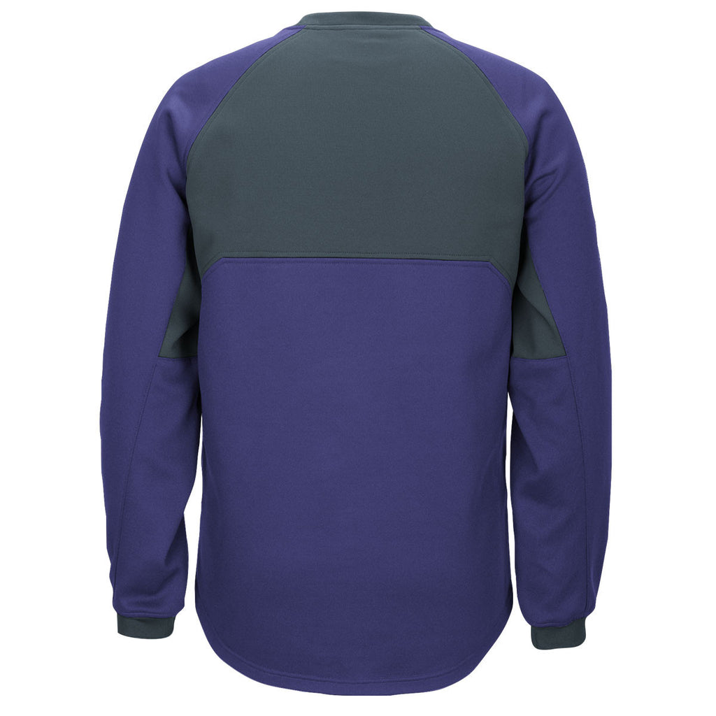 adidas Men's Collegiate Purple/Onix Climawarm Fielder's Choice Fleece