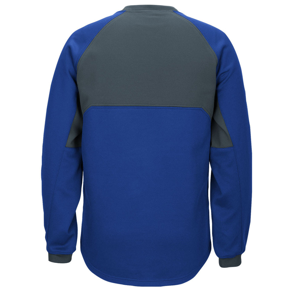 adidas Men's Royal/Onix Climawarm Fielder's Choice Fleece