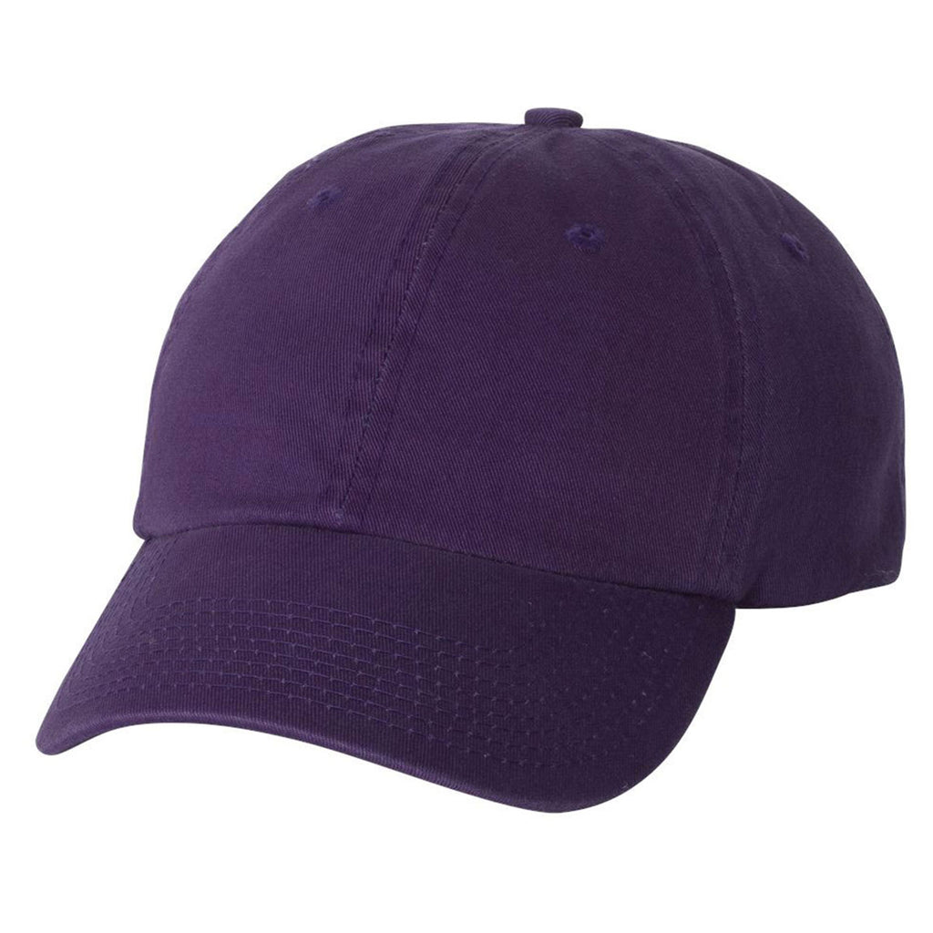 1bbbcdf3723 Bayside Men s Purple USA-Made Unstructured Cap