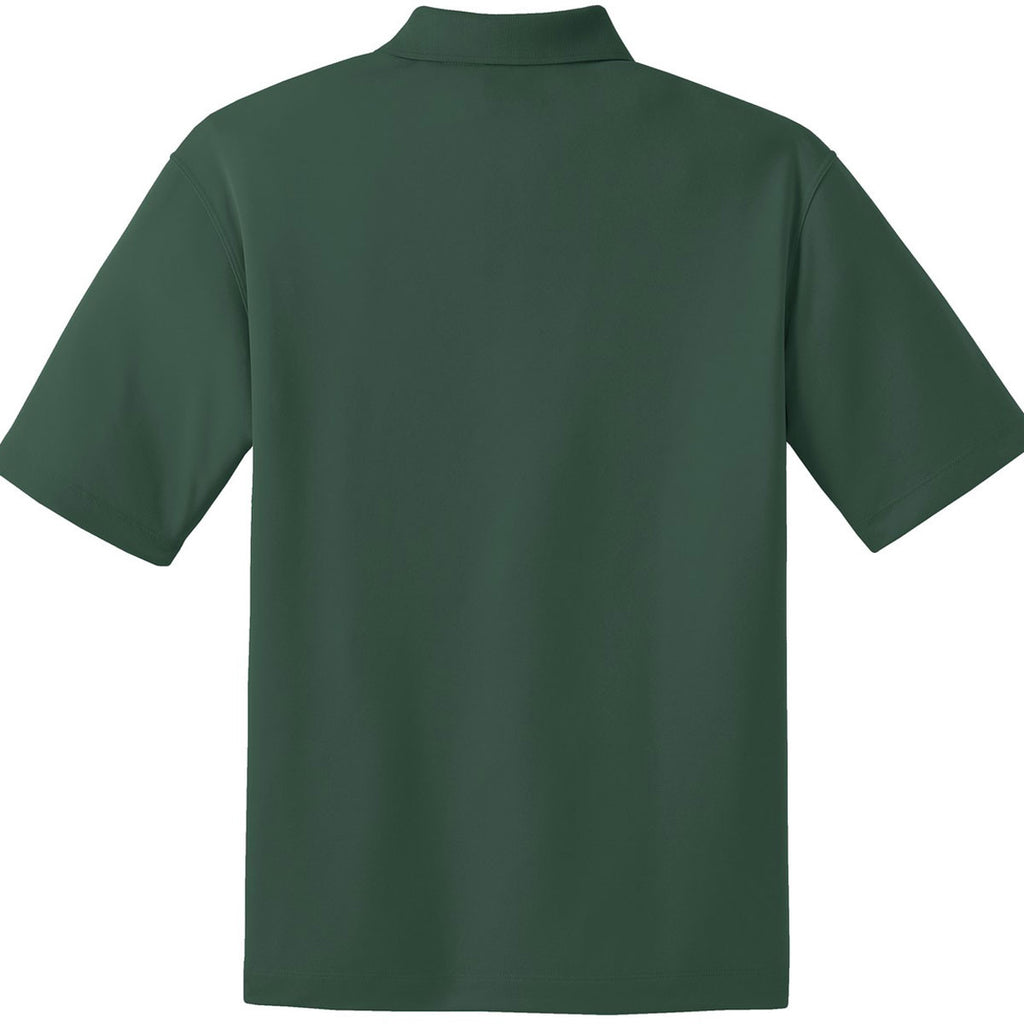 Nike Men's Dark Green Dri-FIT S/S Micro Pique Polo