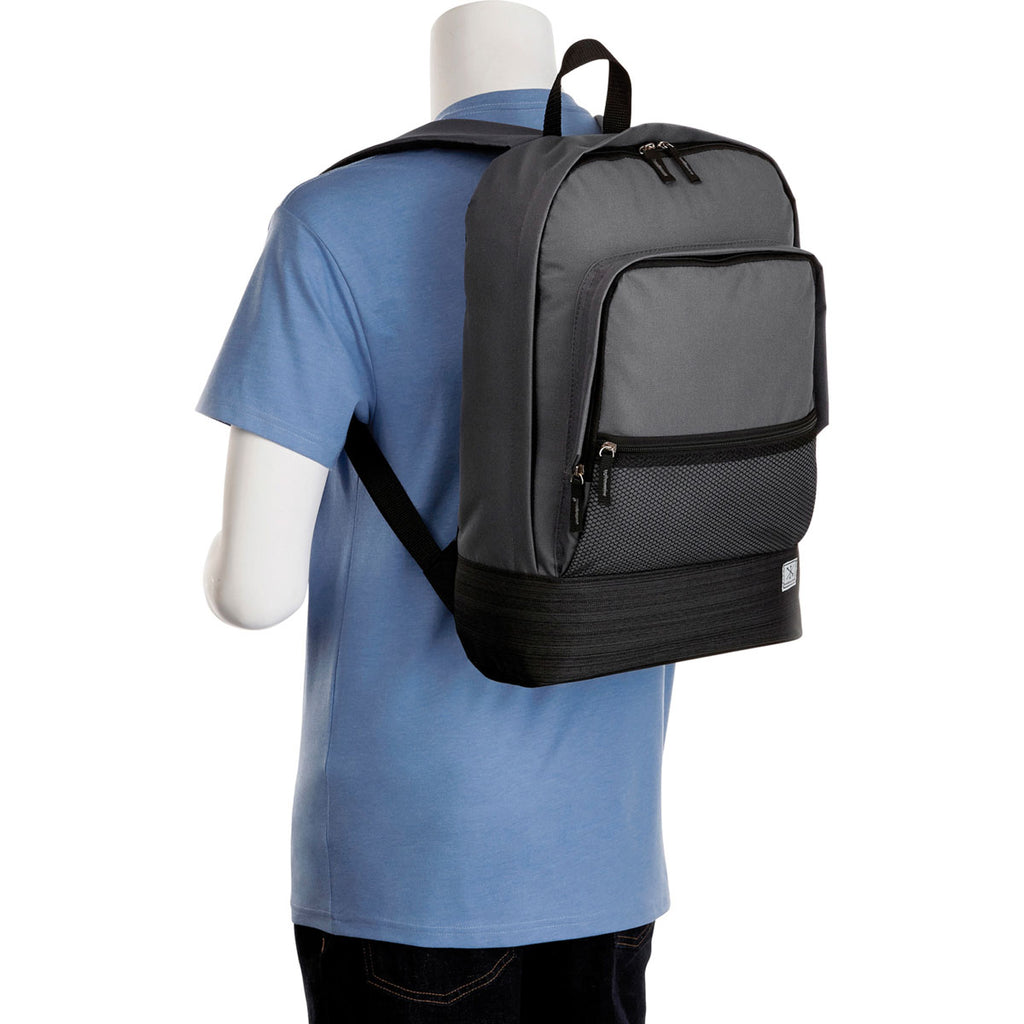 "Merchant & Craft Charcoal Chase 15"" Computer Backpack"