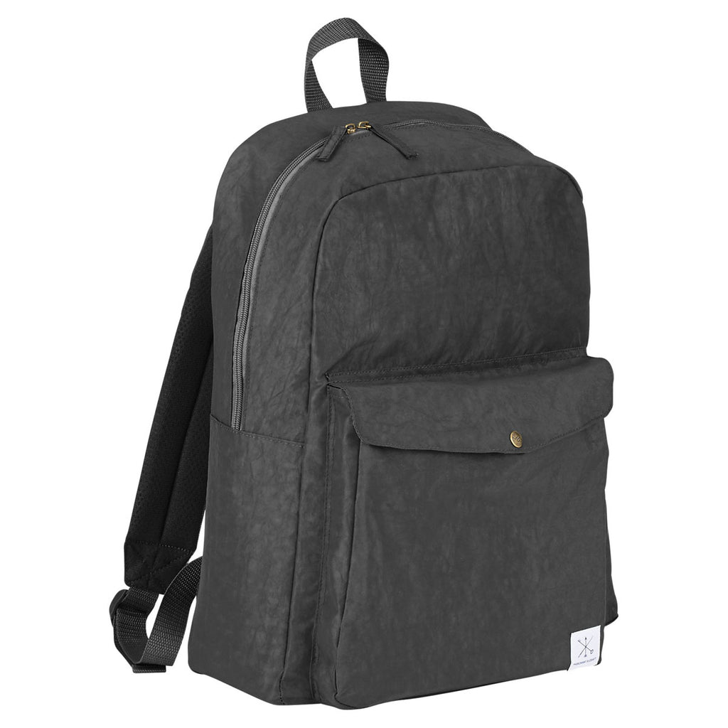 "Merchant & Craft Black Sawyer 15"" Computer Backpack"