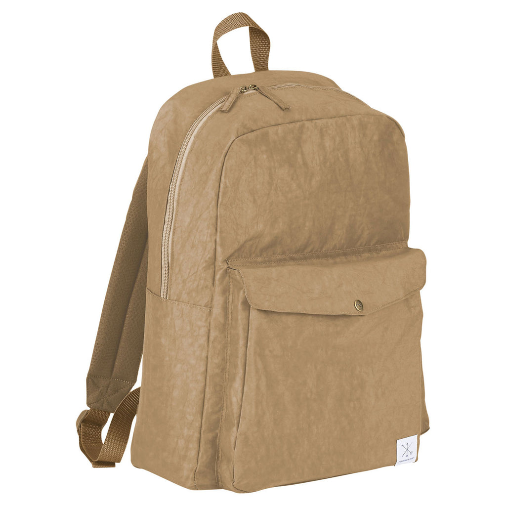 "Merchant & Craft Tan Sawyer 15"" Computer Backpack"