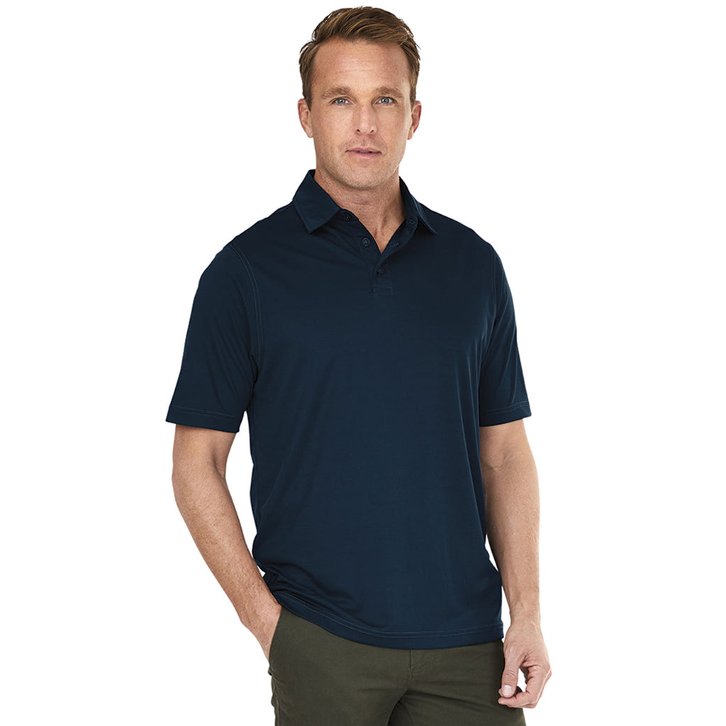 Charles River Men's Navy Wellesley Polo