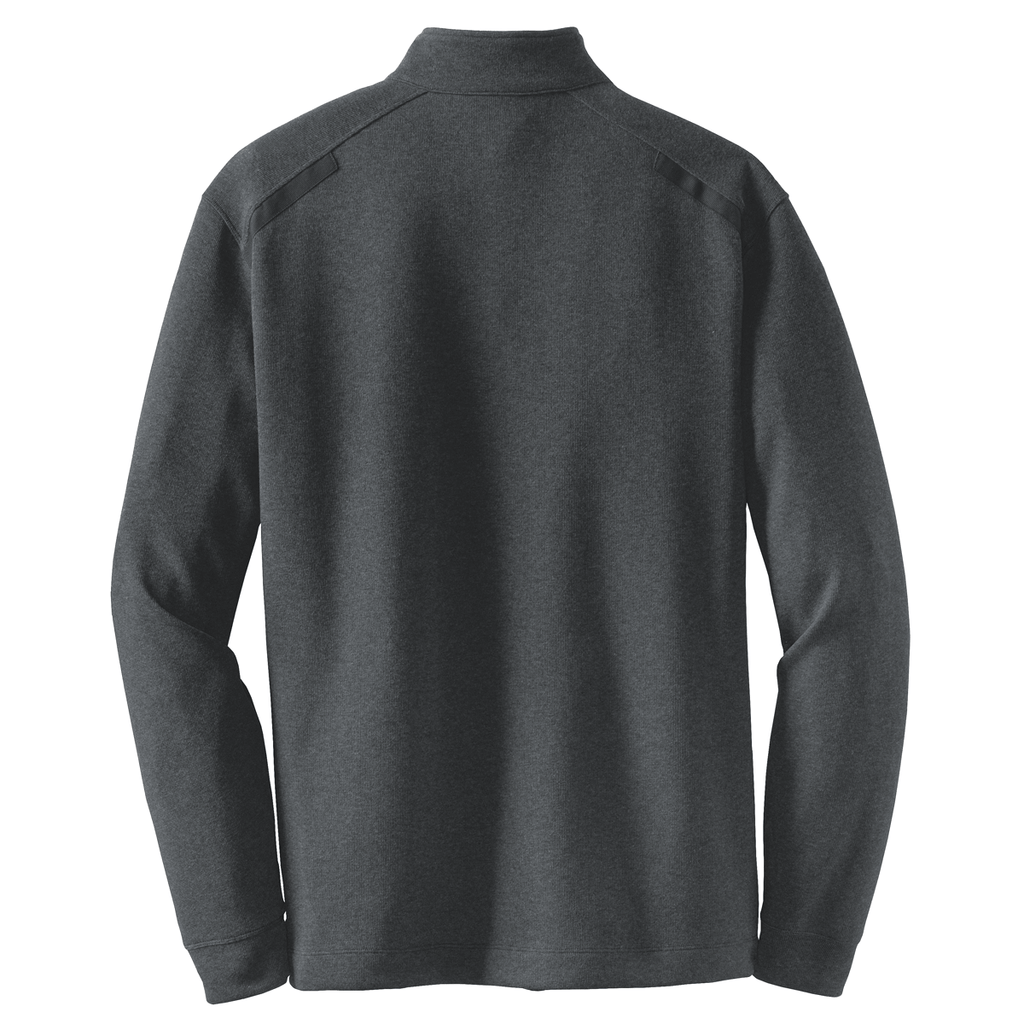 Nike Men's Black Heather L/S Quarter Zip