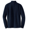 Nike Men's Navy Heather L/S Quarter Zip