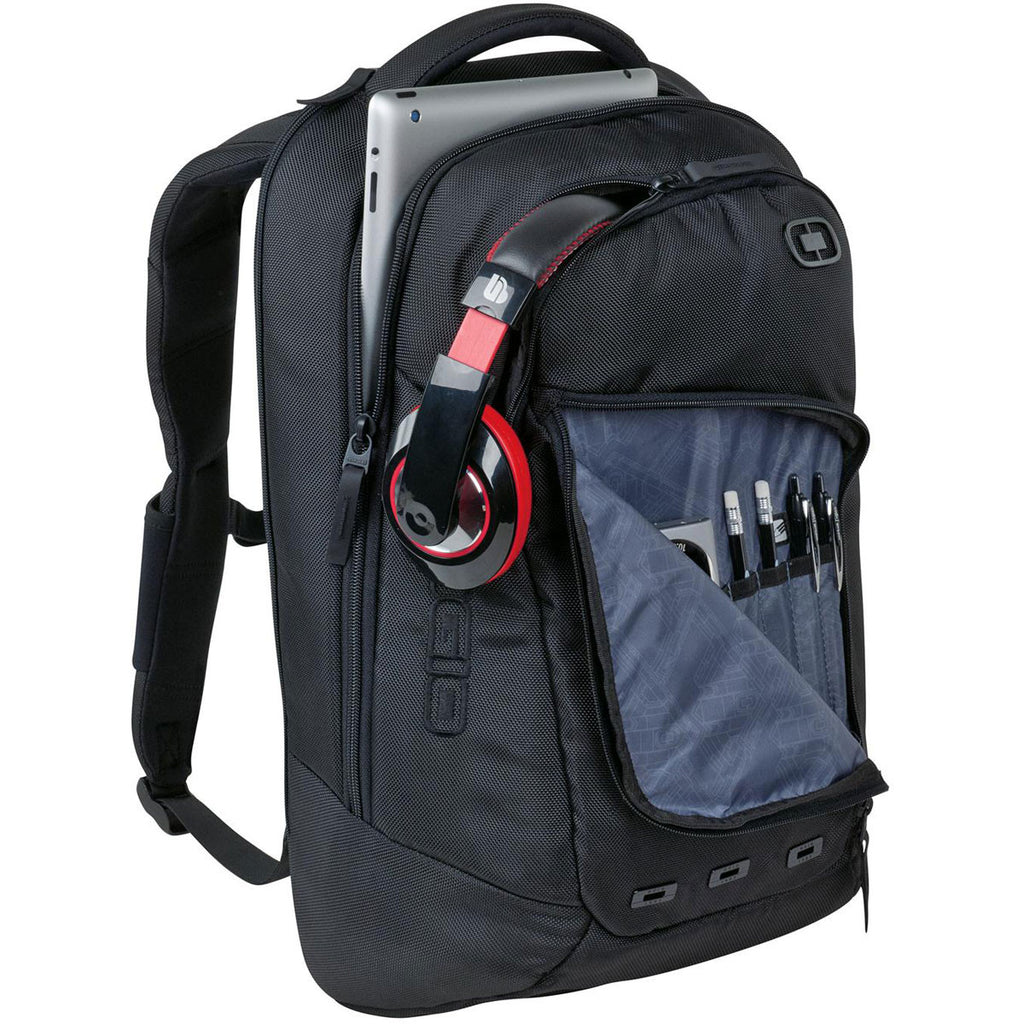 OGIO Black Ace Backpack