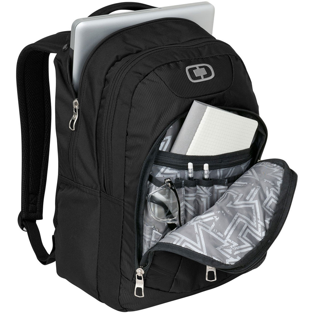 OGIO Black/Silver Colton Backpack