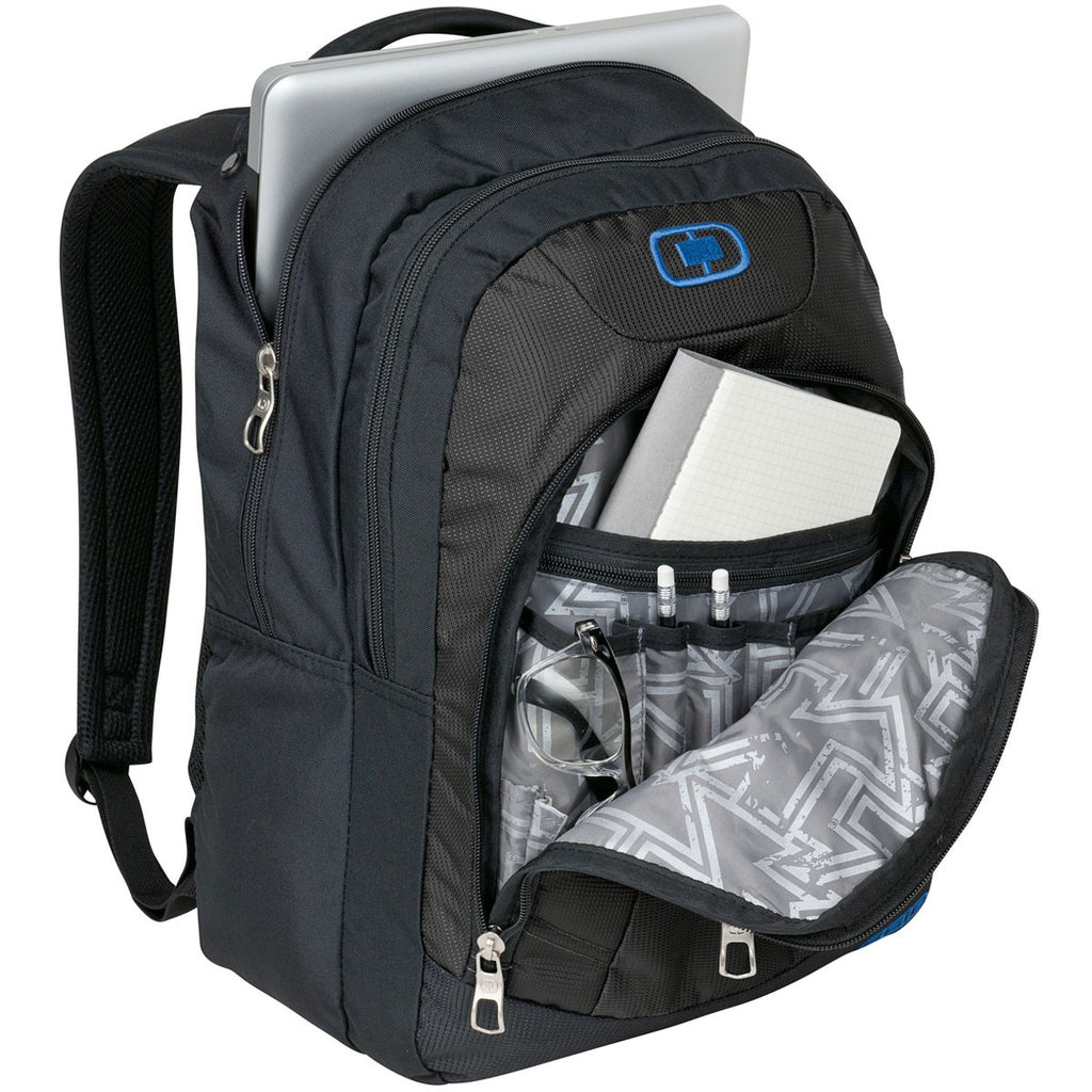 OGIO Grey/Electric Blue Colton Backpack