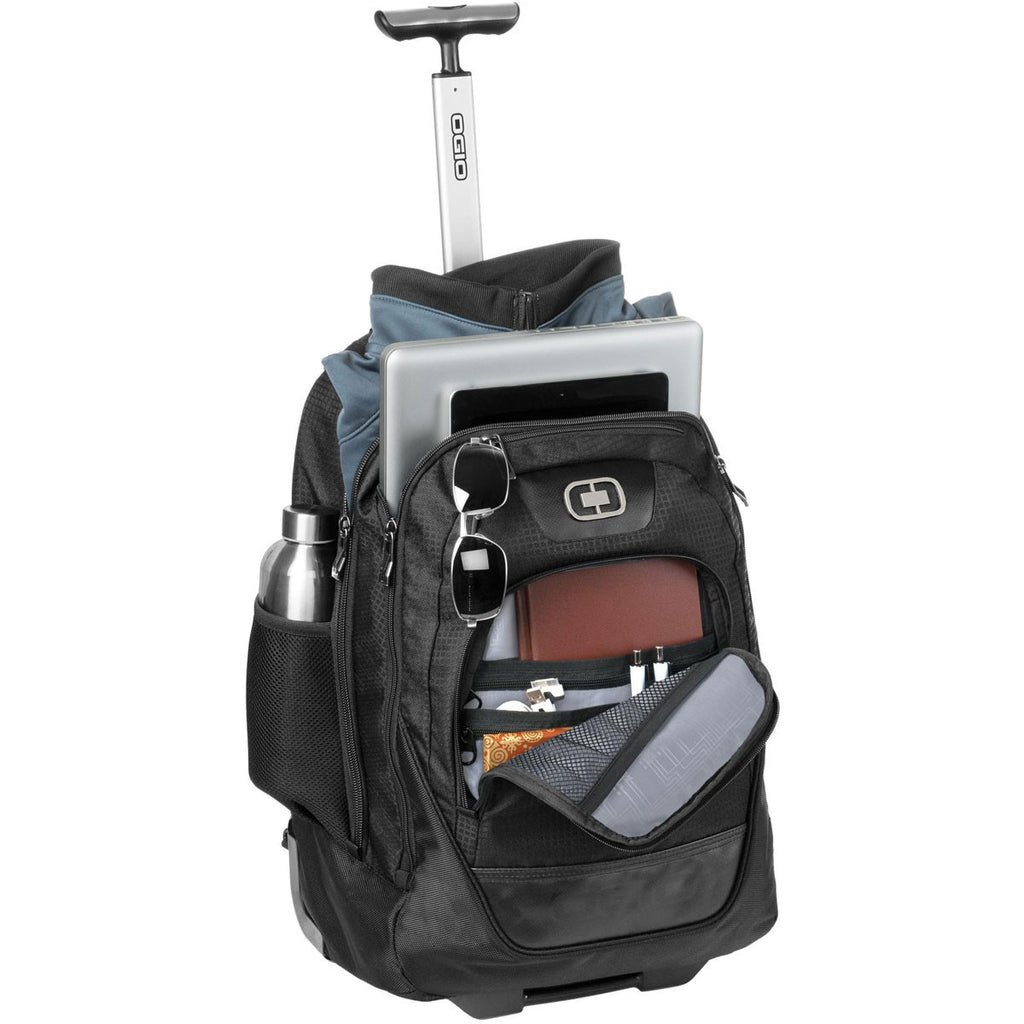OGIO Black Wheelie Backpack