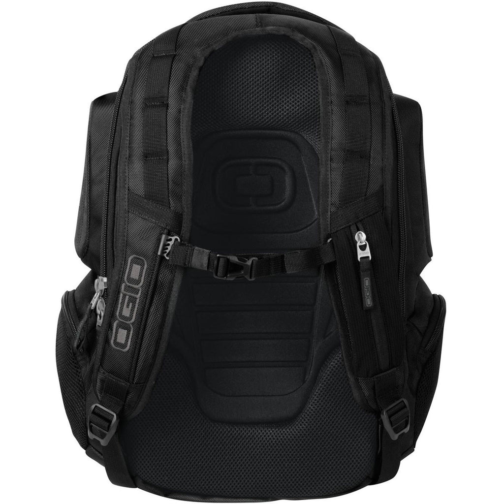 OGIO Black Stratagem Backpack