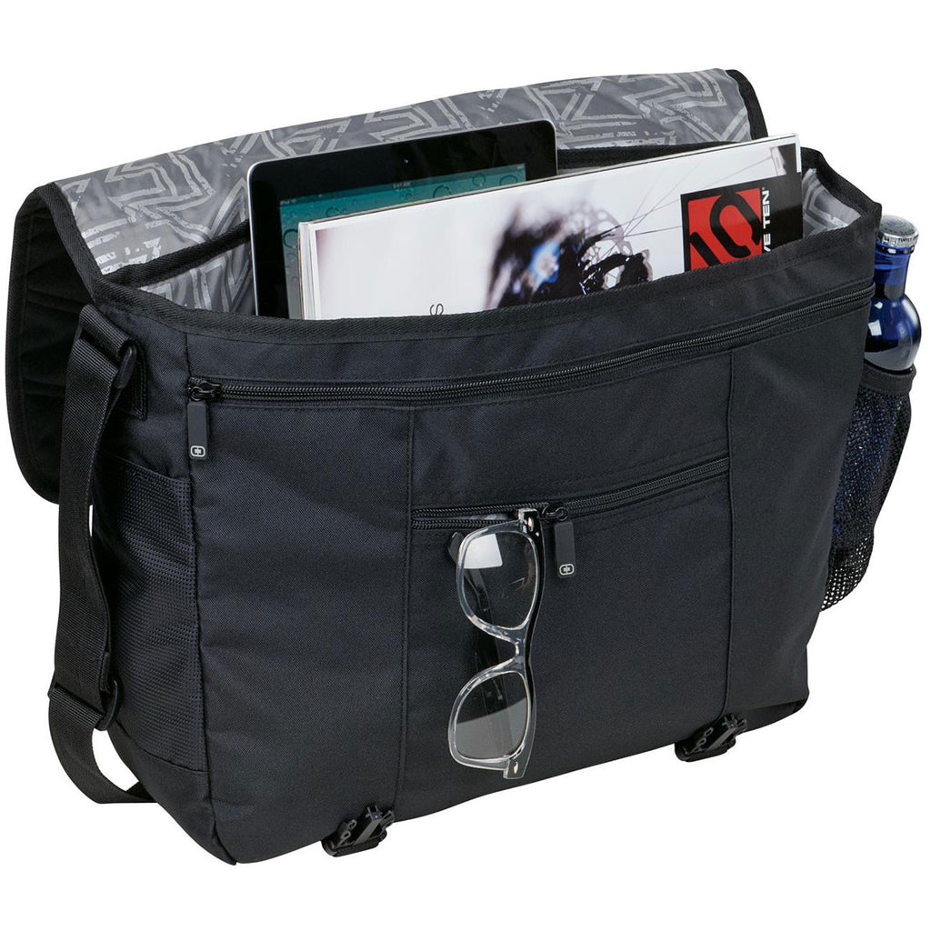 OGIO Black Upton Messenger