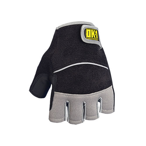 OccuNomix Black Terry Lifter Padded Palm Glove
