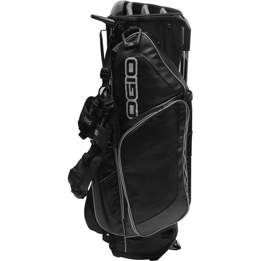 OGIO Black Orbit Stand Golf Bag