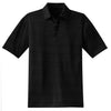 nike-heather-polo-black