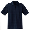 nike-heather-polo-navy