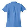 Nike Women's Bright Blue Elite Dri-FIT S/S Ottoman Polo