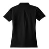 Nike Women's Black Elite Dri-FIT S/S Ottoman Polo