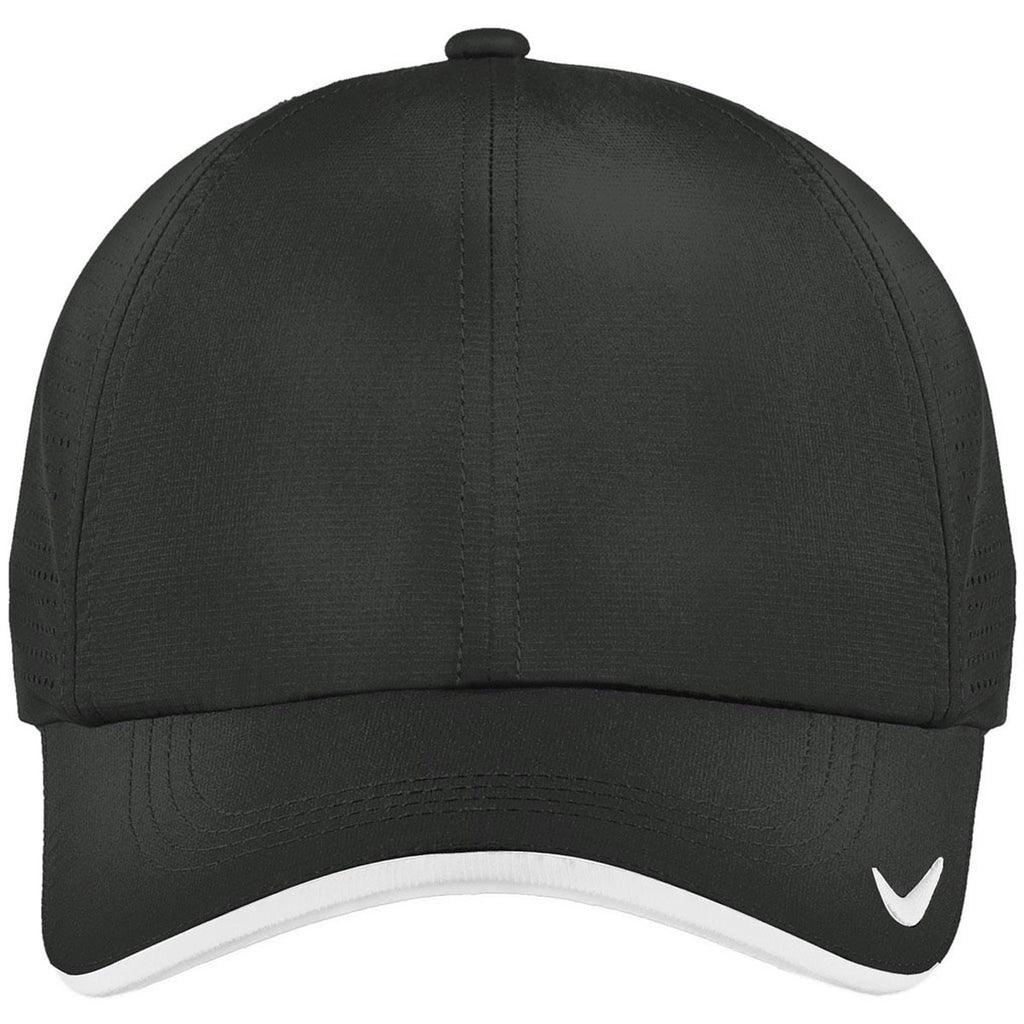 Nike Dri-FIT Anthracite Swoosh Perforated Cap