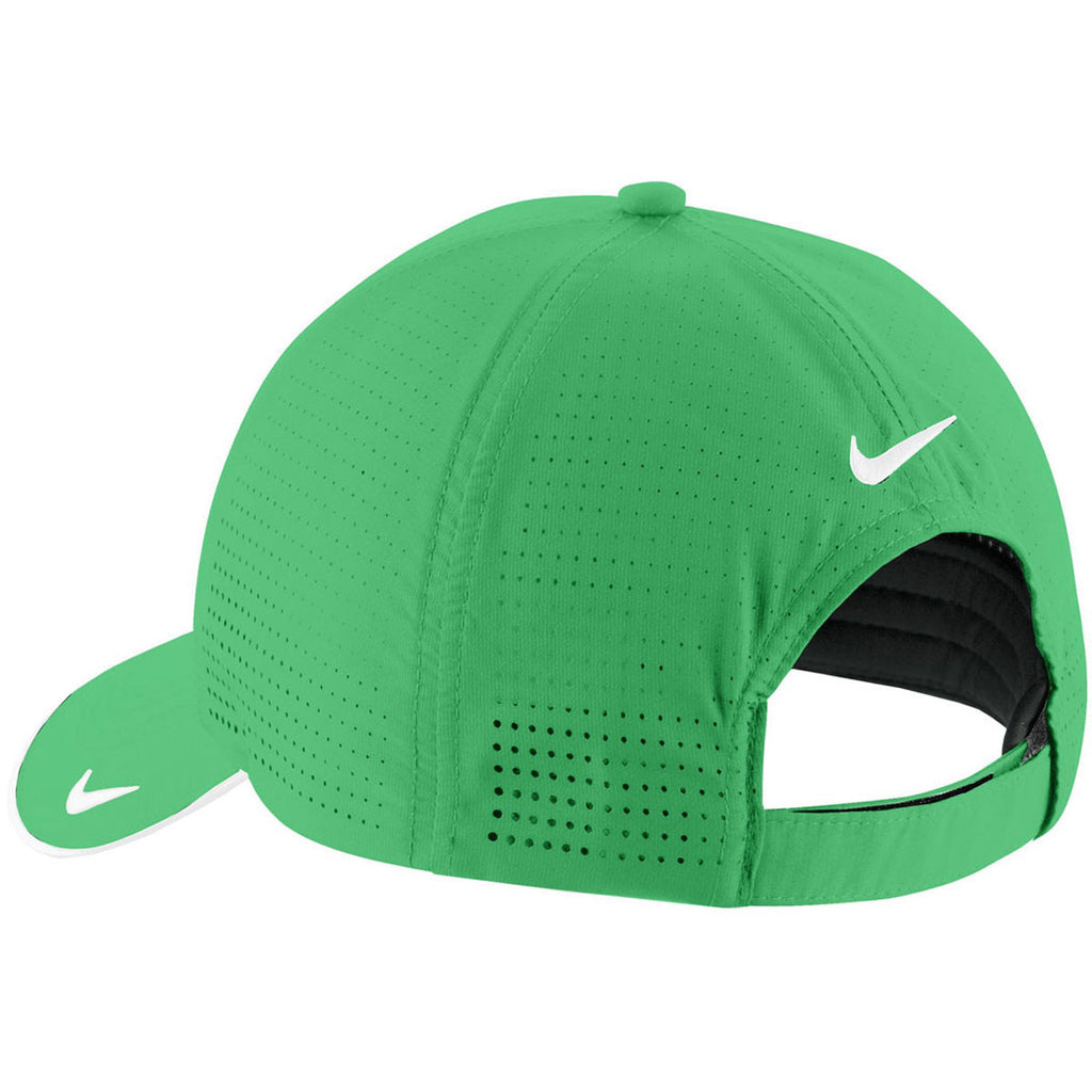 Nike Dri-FIT Lucky Green Swoosh Perforated Cap