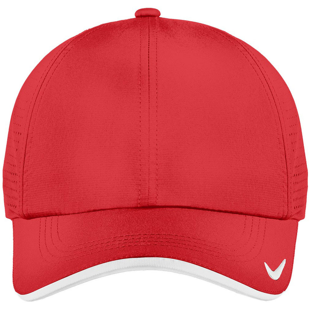 Nike Dri-FIT University Red Swoosh Perforated Cap fcd070fb752