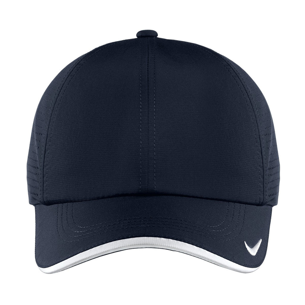 Nike Navy Dri-FIT Swoosh Perforated Cap