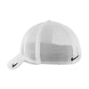 Nike White Mesh Back Cap