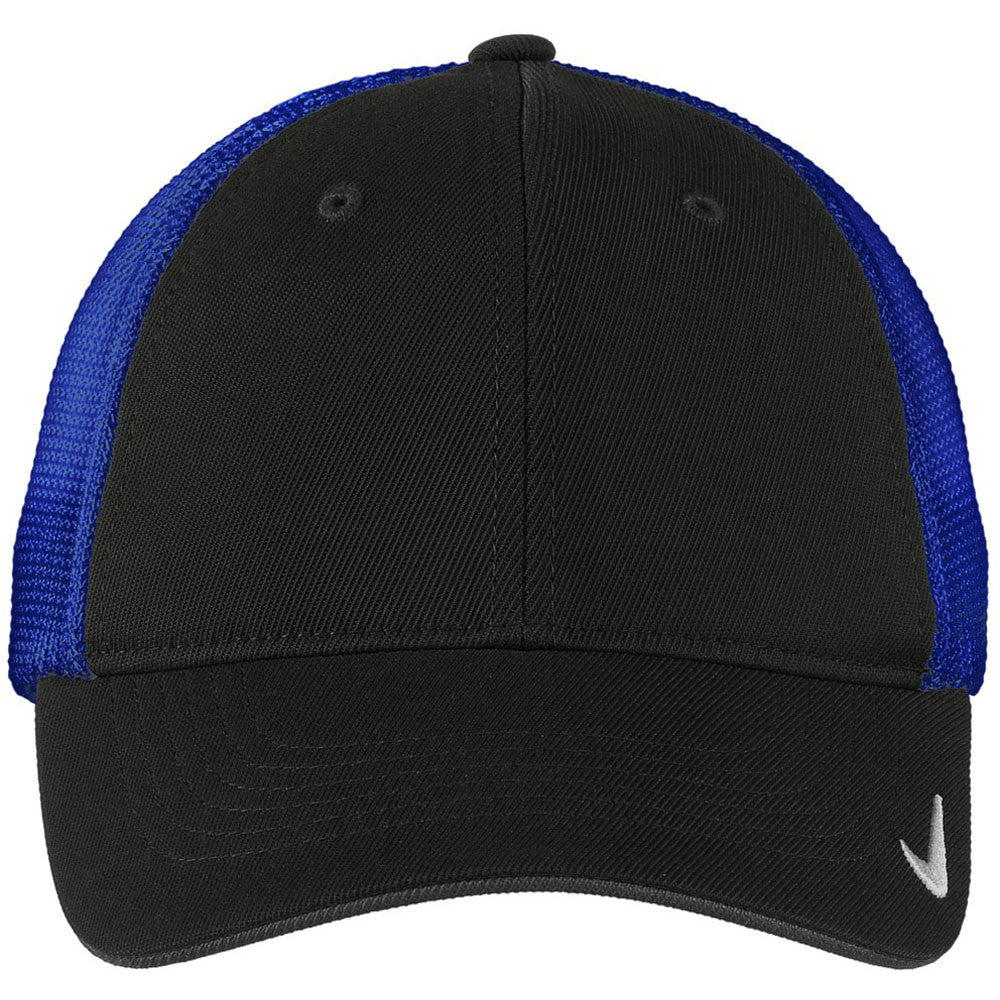 Nike Black/Royal Mesh Back Cap