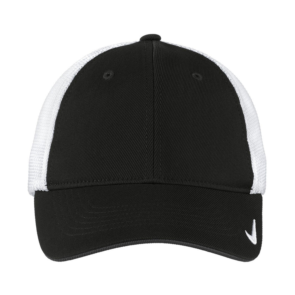 Nike Black/White Mesh Back Cap