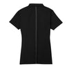 Nike Women's Black Dri-FIT Short Sleeve Sport Swoosh Pique Polo