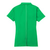 Nike Women's Green Dri-FIT Short Sleeve Sport Swoosh Pique Polo