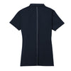 Nike Women's Navy Dri-FIT S/S Sport Swoosh Pique Polo
