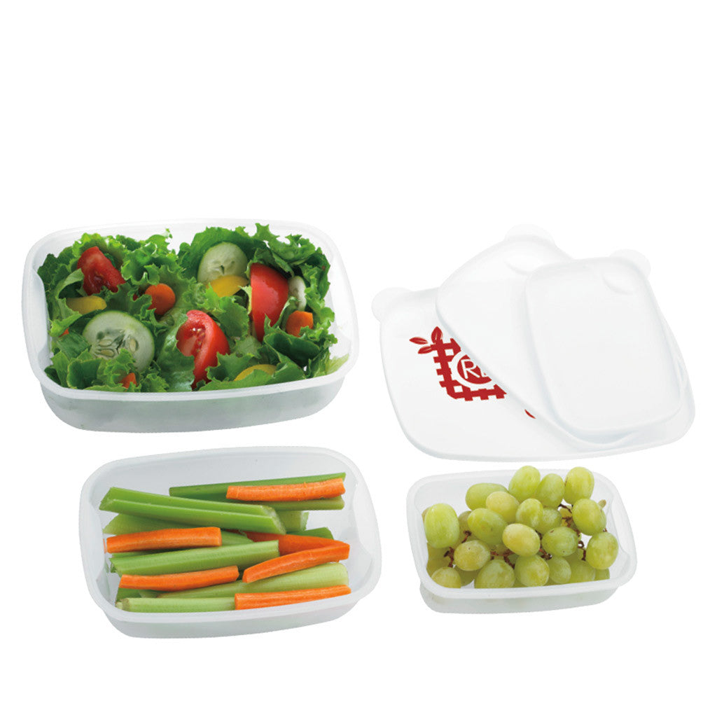 Norwood White Food Container 3 Pack