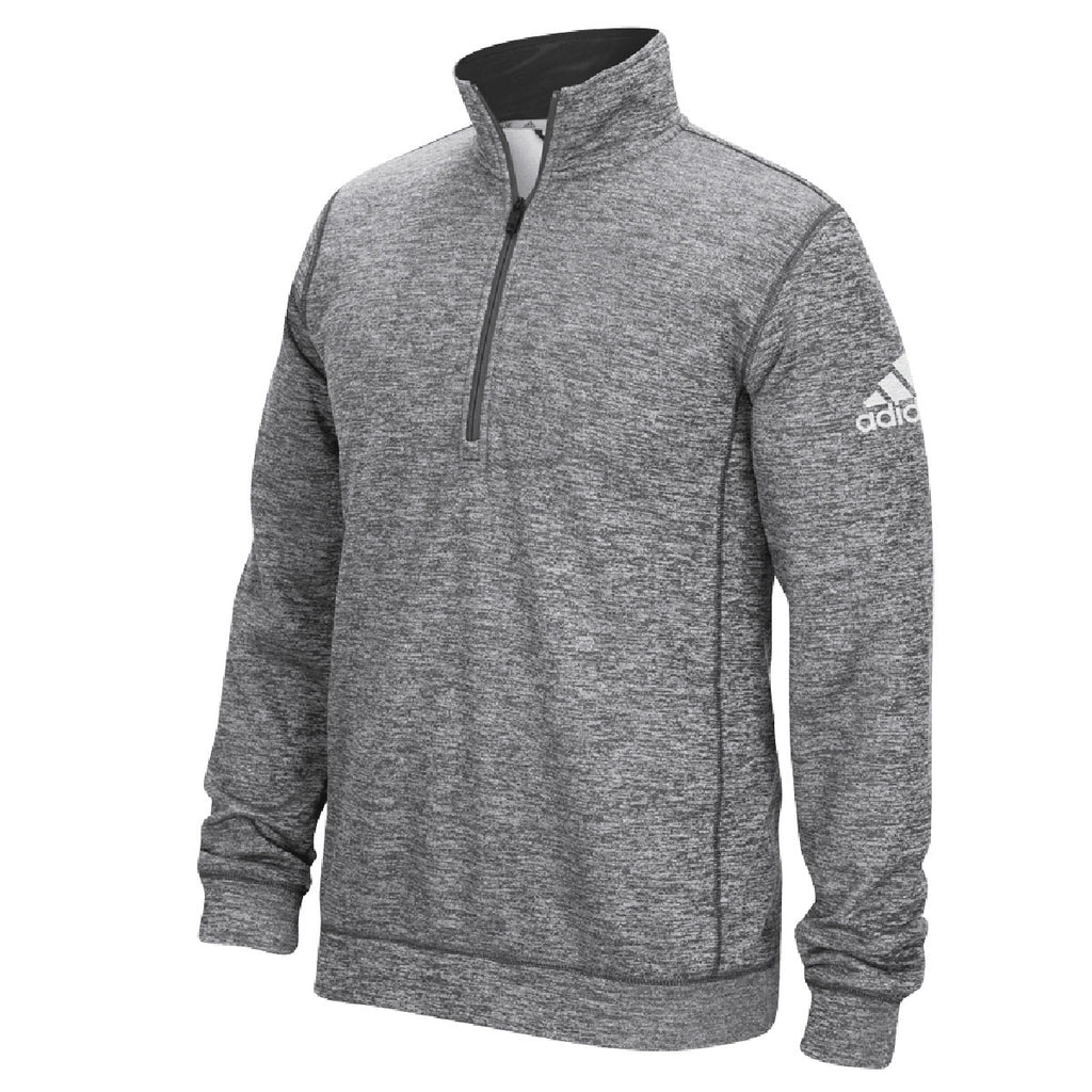 big sale 59577 84a44 adidas Men s Dark Grey Climawarm Team Issue 1 4 Zip. ADD YOUR LOGO
