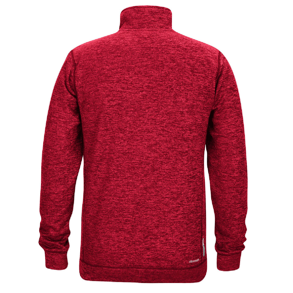 adidas Men's Red Climawarm Team Issue 1/4 Zip