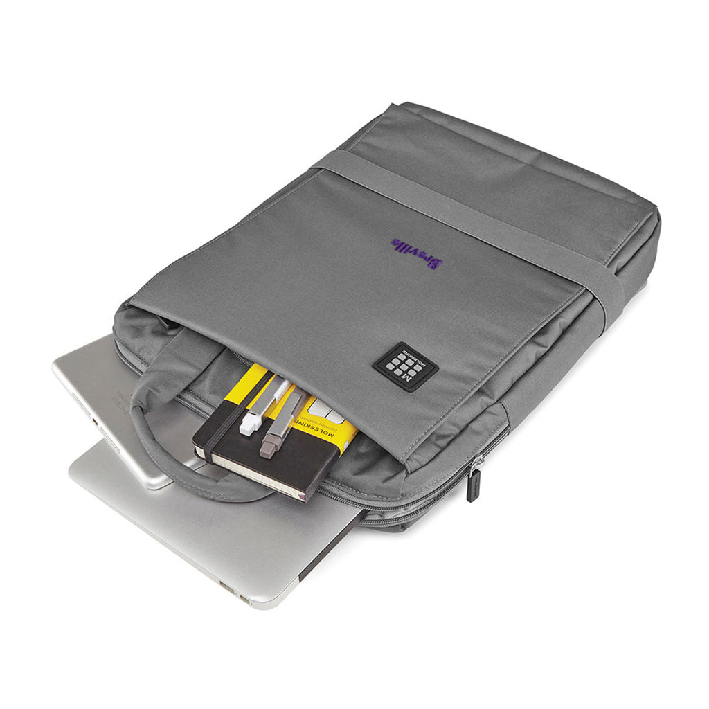 Moleskine Slate Grey ID Vertical Bag for Digital Devices - 15""