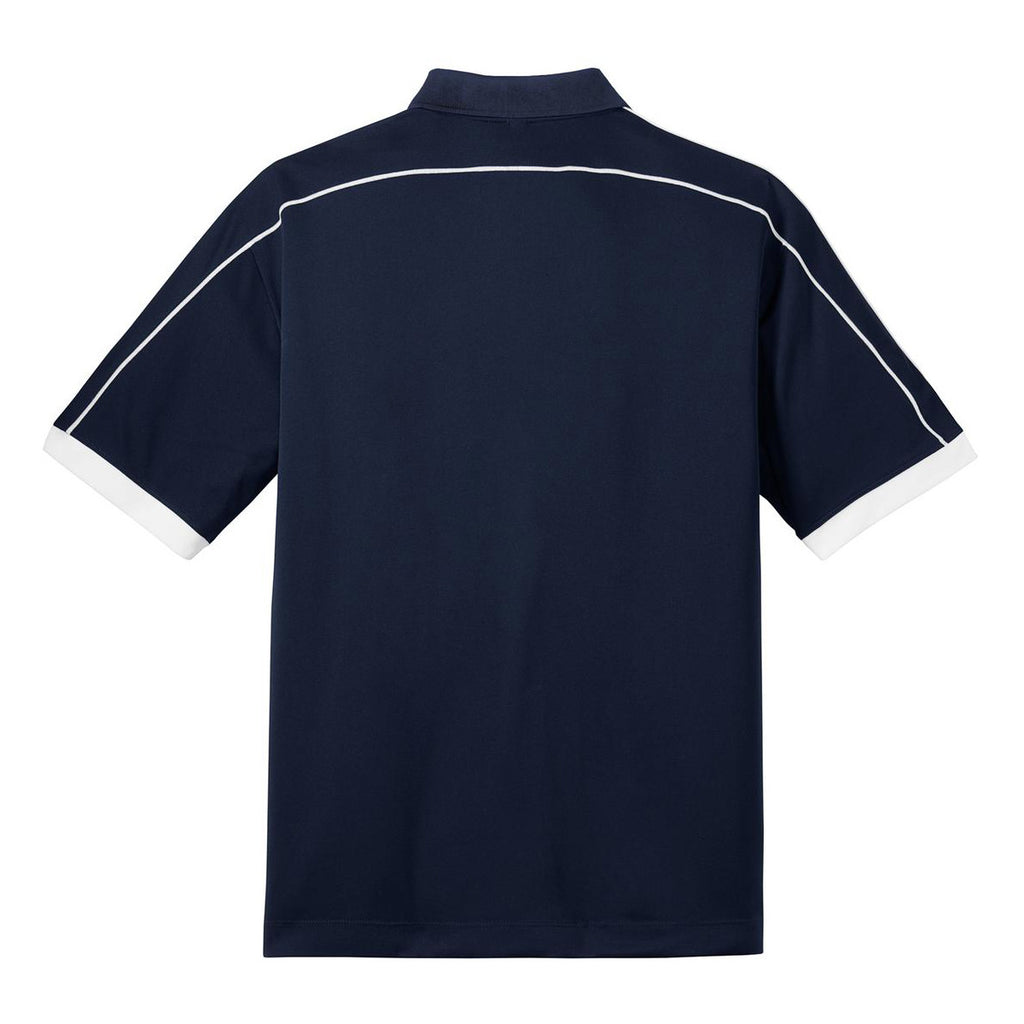 Nike Men's Navy/White Dri-FIT N98 Polo