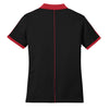 Nike Women's Black/Red Dri-FIT N98 Polo