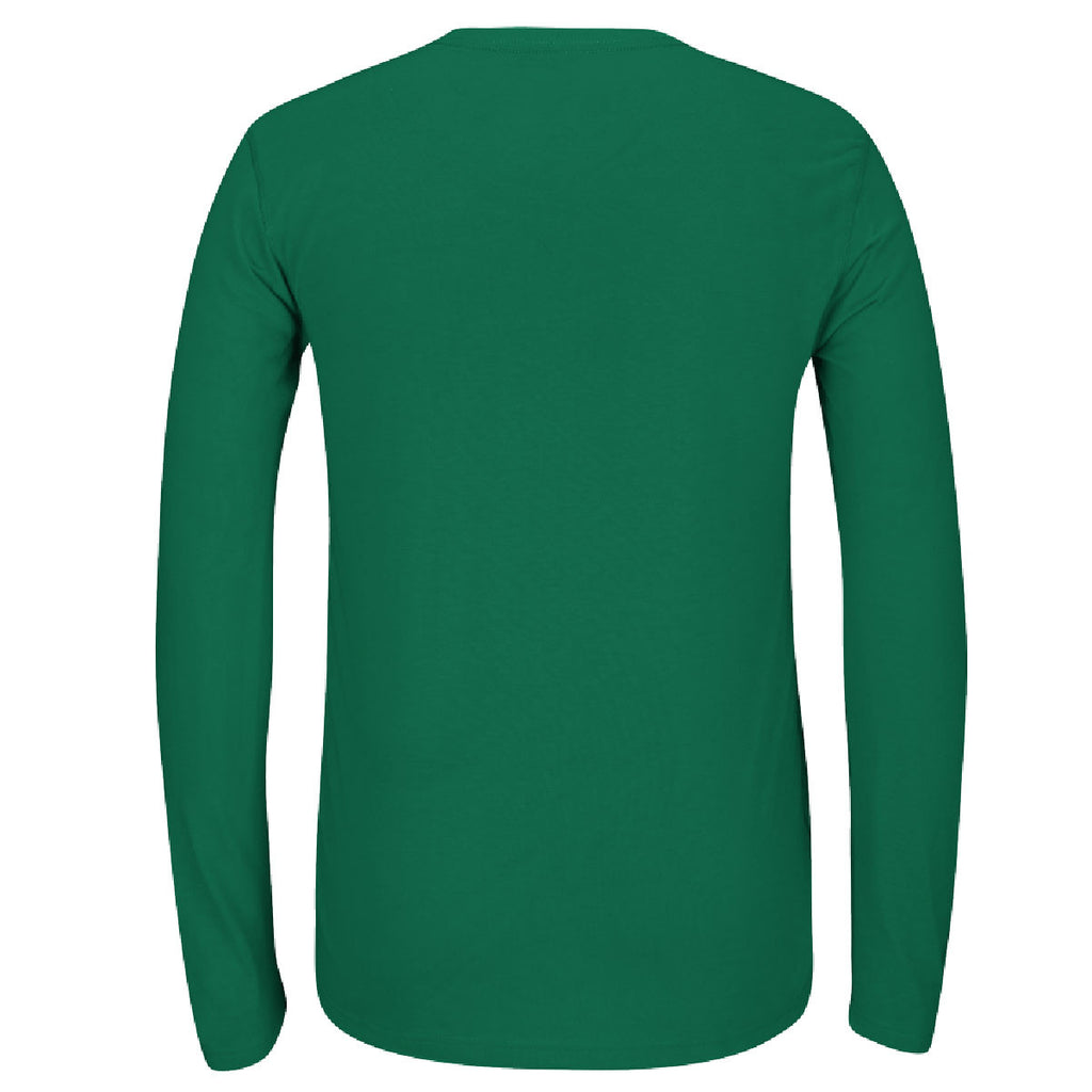 adidas Men's Green Climalite Ultimate Long Sleeve Tee