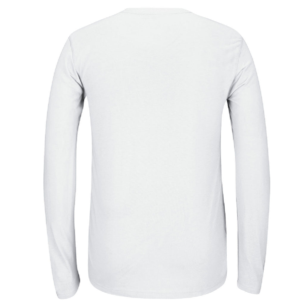 adidas Men's White Climalite Ultimate Long Sleeve Tee