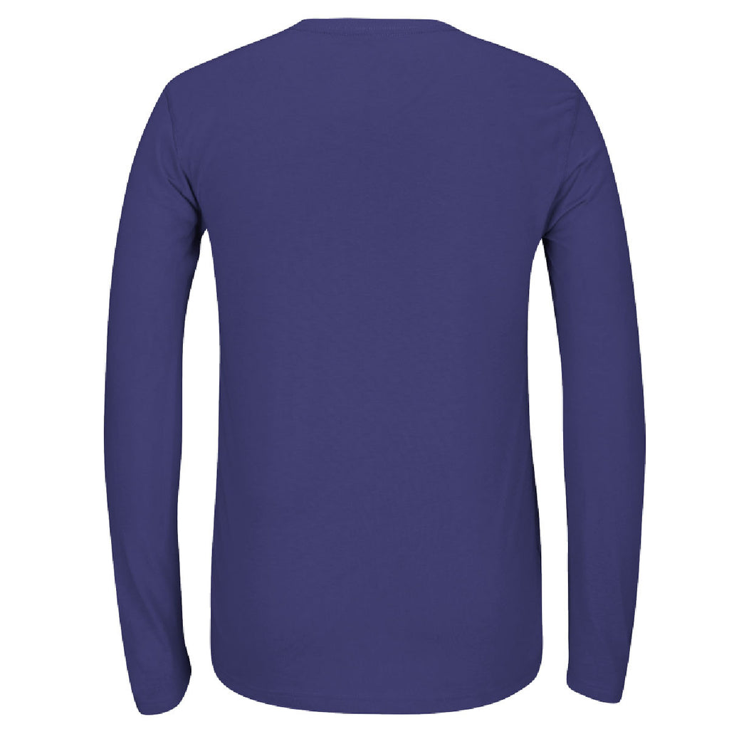 adidas Men's Purple Climalite Ultimate Long Sleeve Tee