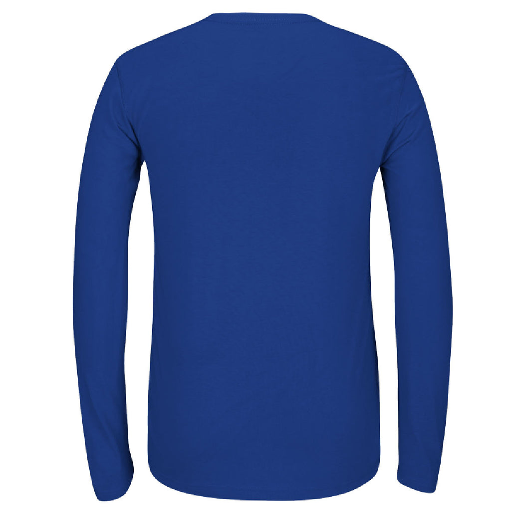adidas Men's Royal Climalite Ultimate Long Sleeve Tee