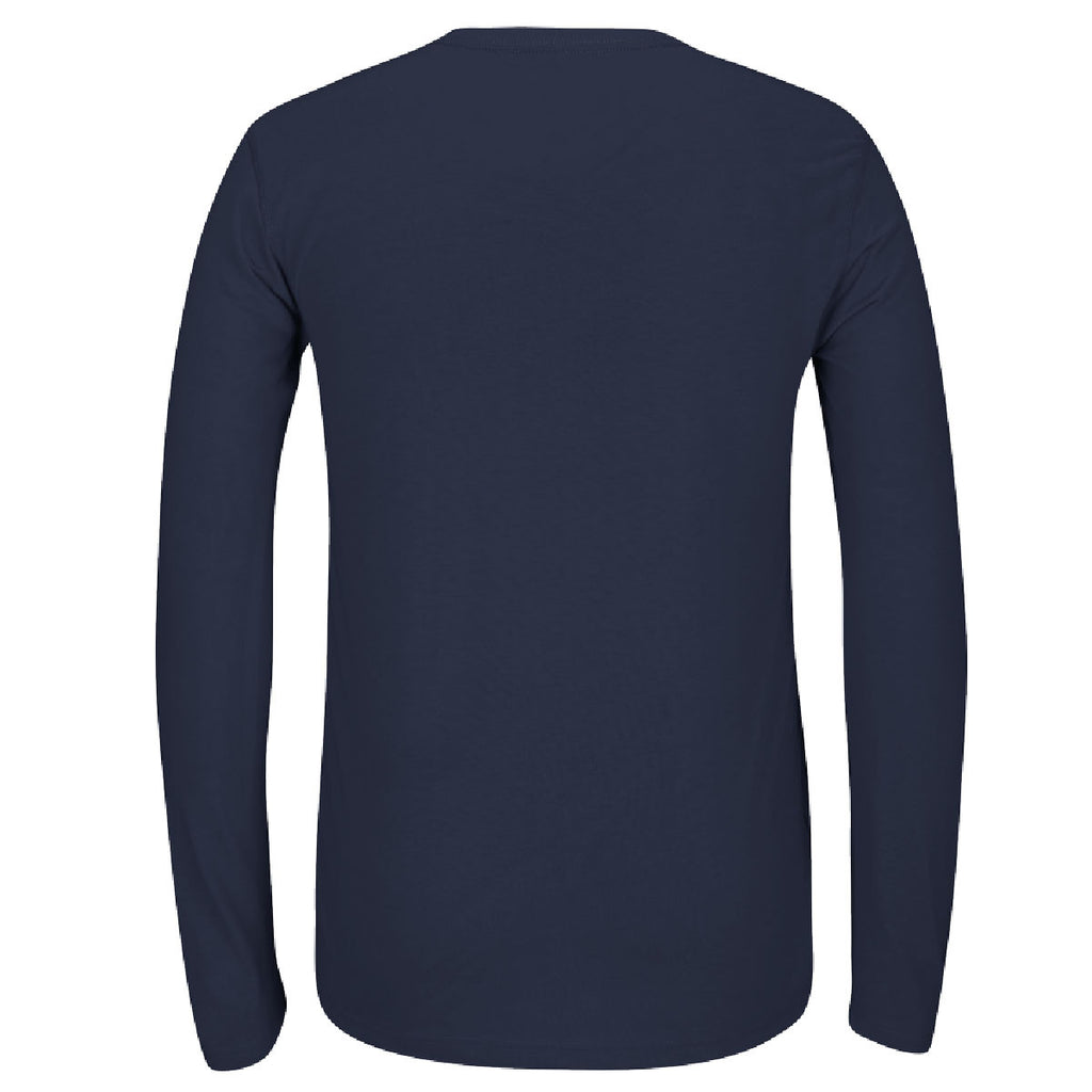 adidas Men's Navy Climalite Ultimate Long Sleeve Tee