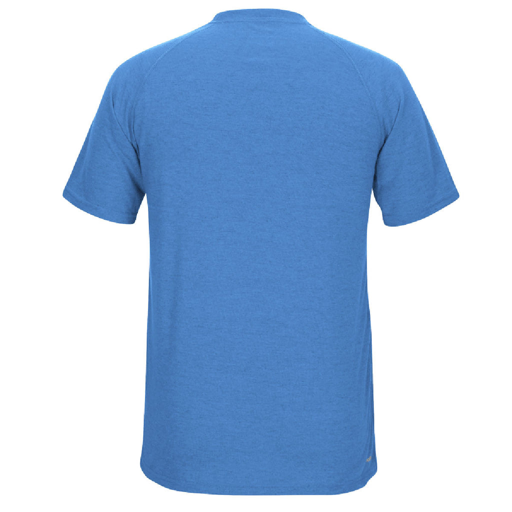 adidas Men's Light Blue Climalite Ultimate Short Sleeve Tee