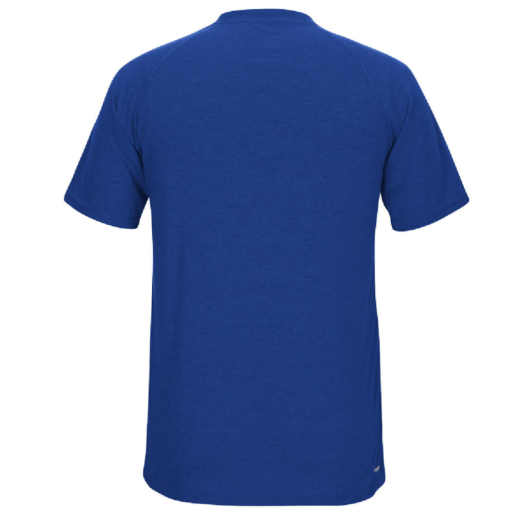 adidas Men's Royal Climalite Ultimate Short Sleeve Tee