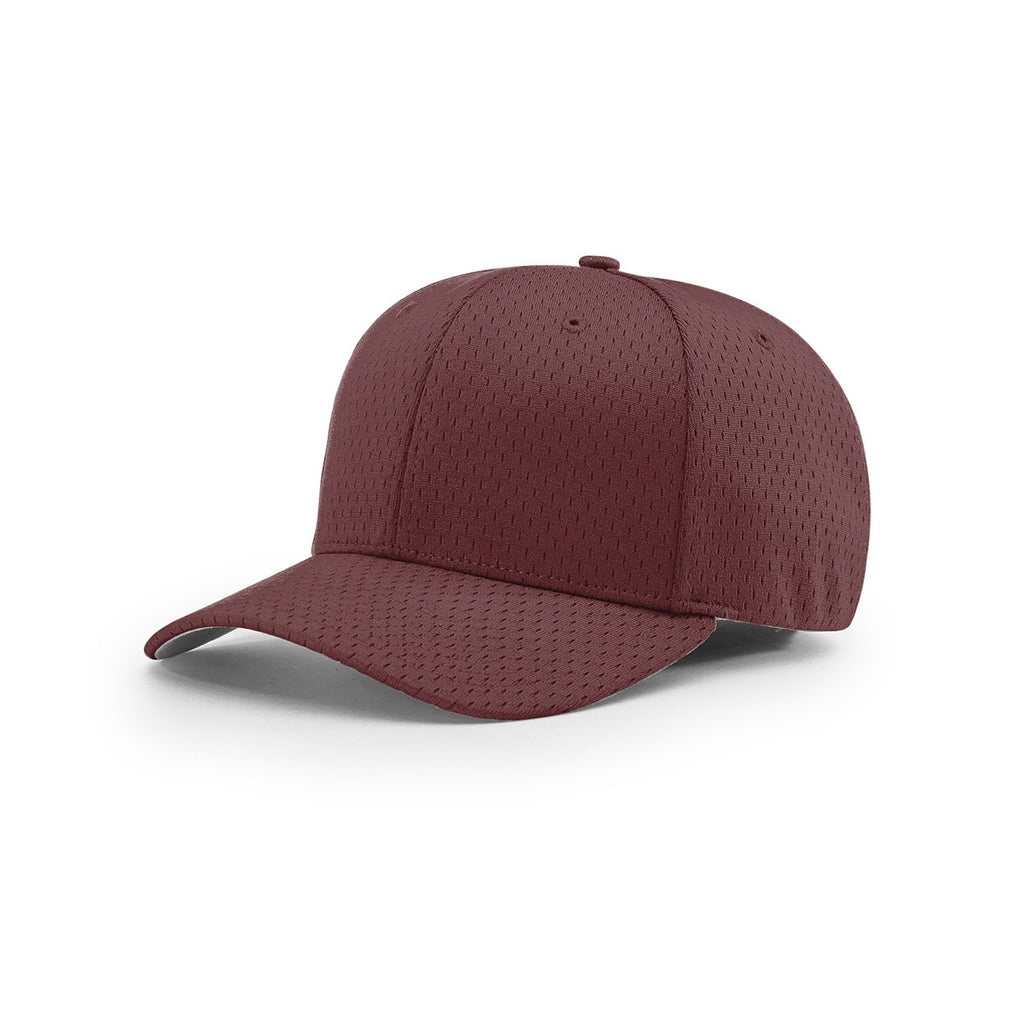 6208fc8018da6c Richardson Maroon On-Field Solid Pro Mesh R-Flex Cap