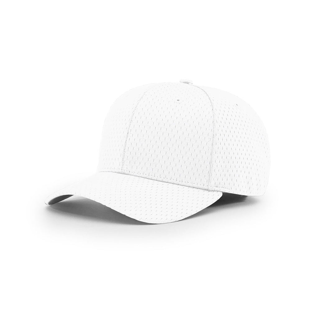 e2166ac8d9fb48 Richardson White On-Field Solid Pro Mesh R-Flex Cap