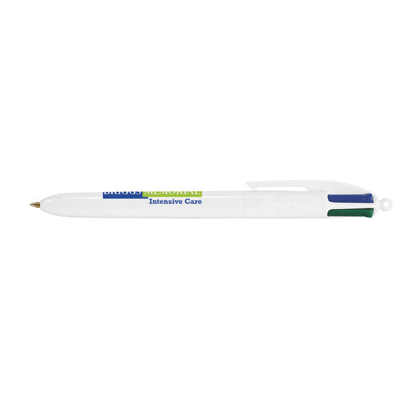 BIC White 4-Color Pen
